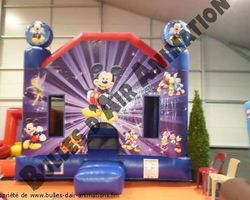 Bulles d'air Animation - Les Ulmes - Nos structures et nos plus - CHATEAU MICKEY