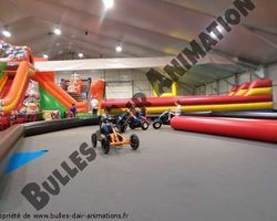 Bulles d'air Animation - Les Ulmes - Nos structures et nos plus - KARTING A PEDALES