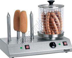 Bulles d'air Animation - Les Ulmes - Nos machines alimentaires - LA MACHINE A HOT DOG
