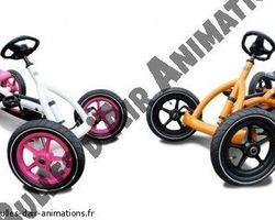 Bulles d'air Animation - Les Ulmes - Opération et animation commerciale - ANIMATION KARTING A PEDALES